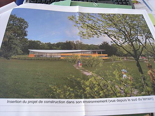 Le permis de construire de la nouvelle piscine for Permis construire piscine