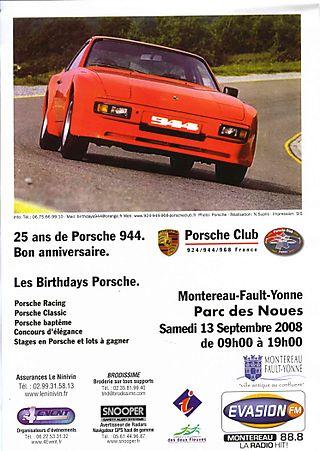 Porsche noues 2008