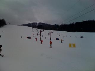 Ancelle sous la neige