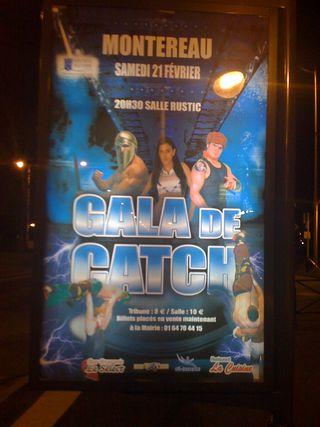 Affiche catch planimetre