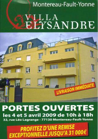 Villa elysandre portes ouvertes