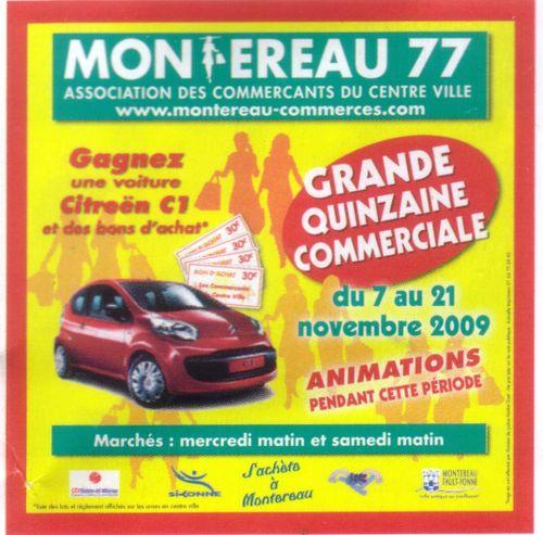 Quinzaine commerciale nov 2009