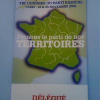 110ème congrès du parti radical