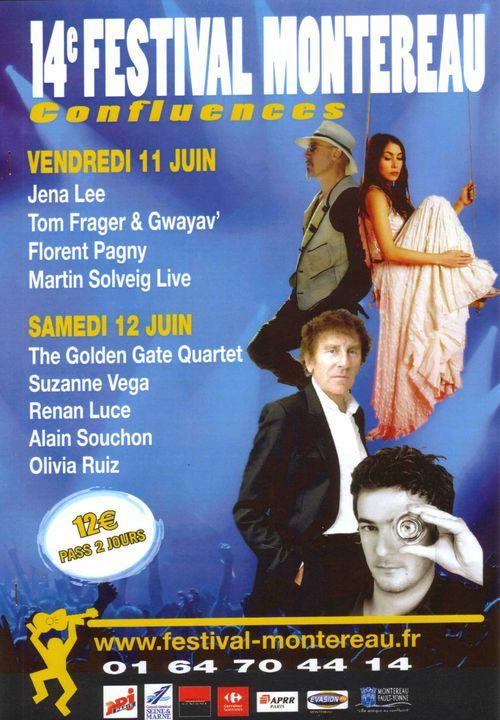 Affiche programme confluences 2010