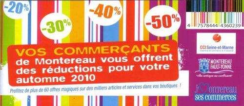 Chequier commerçants automne 2010
