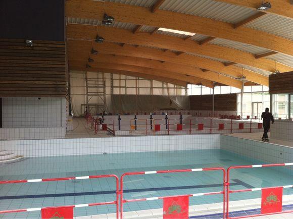 La piscine ouverte au public en octobre 2010