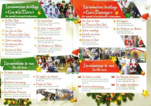 Programme noel2010