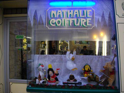 Vitrine nathale coiffure noel 2010