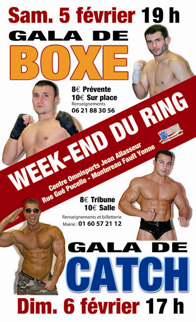 Catch et boxe