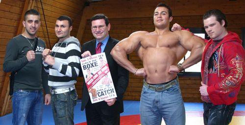 Présentation galas boxe catch 2011