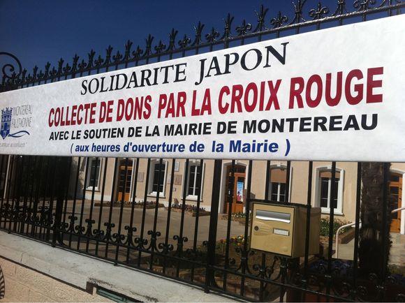 Solidarité avec le Japon