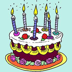 Anniversaire 6 ans - Dessin gateau anniversaire 4 ans ...