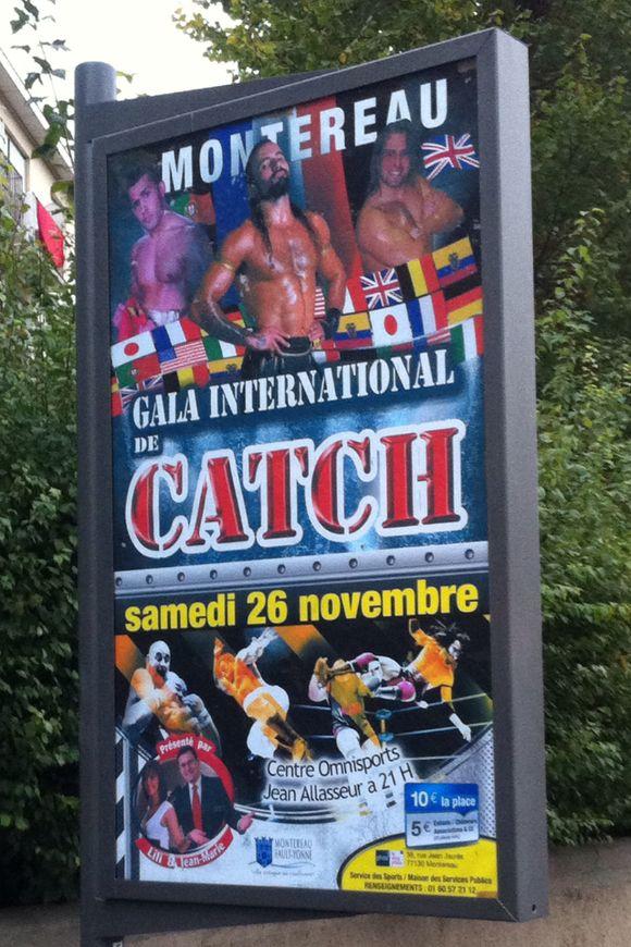 Gala de catch 26 novembre 2011 Montereau