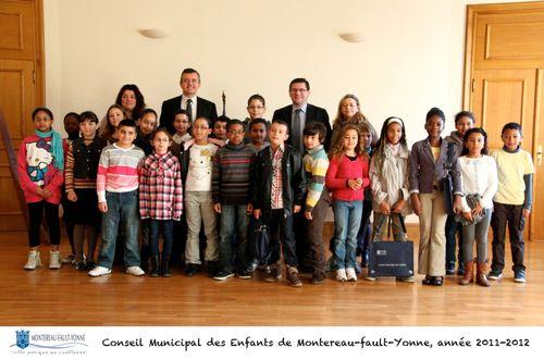 Conseil municipal des enfants 2011