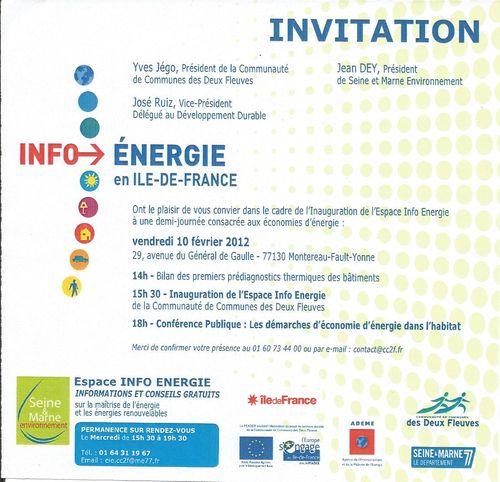 Info énergie 100212