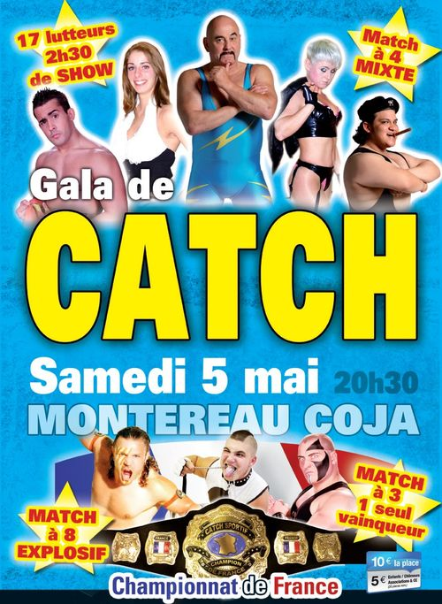 Affiche catch mai 2012 montereau
