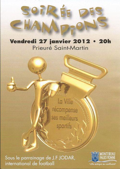 Soirée champions 2012