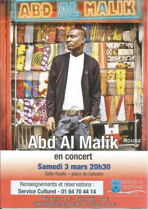 Abd el malik concert