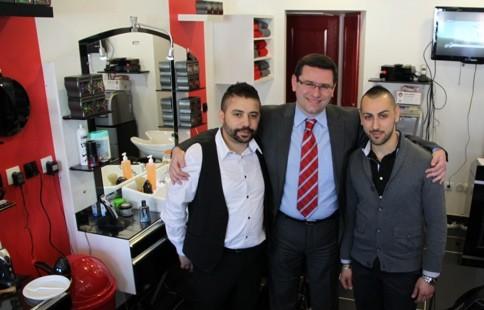 Inauguration salon de coiffure