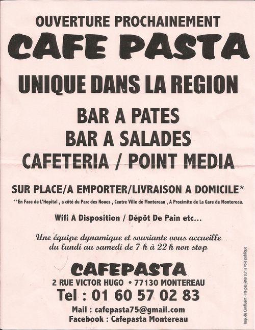 Scan cafe pasta