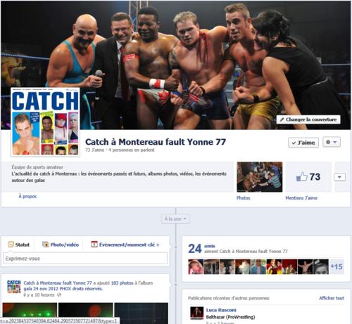 Capture facebook catch