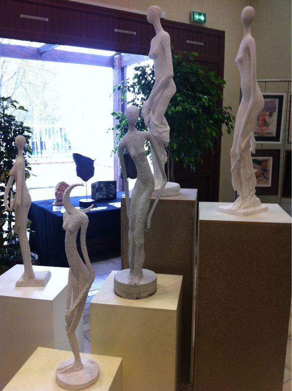 Exposition d'art à Misy sur Yonne