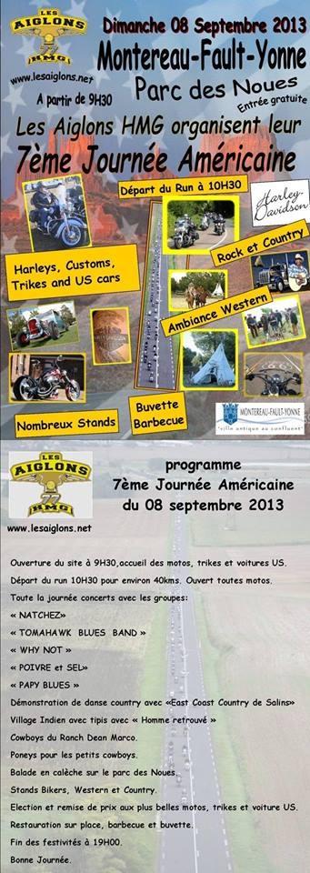 Aujourd'hui à Montereau : 7 ème édition de la journée américaine