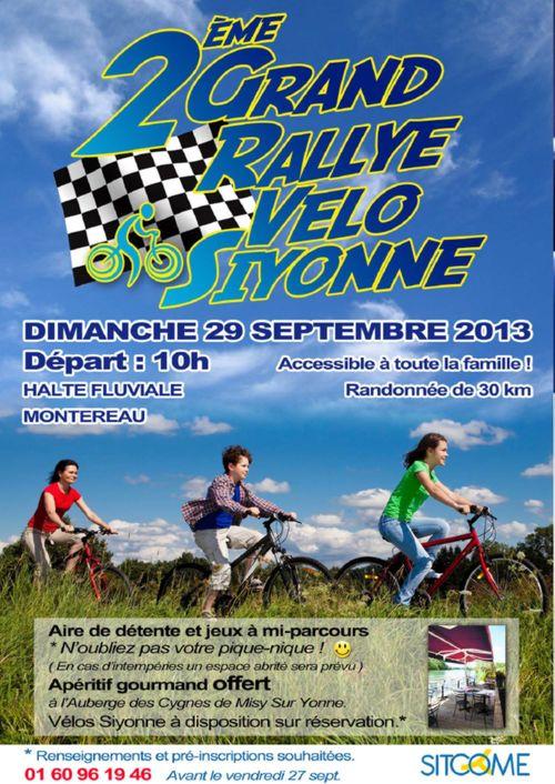 Sitcome rally vélo 2013