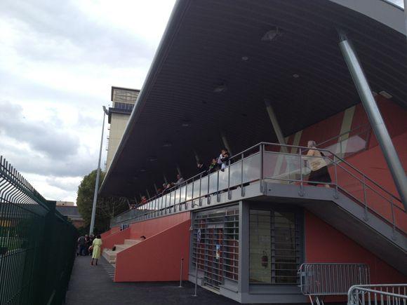 Inauguration des travaux du stade Chalmeau