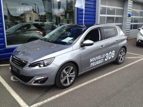 La nouvelle 308 est arrivée chez Peugeot