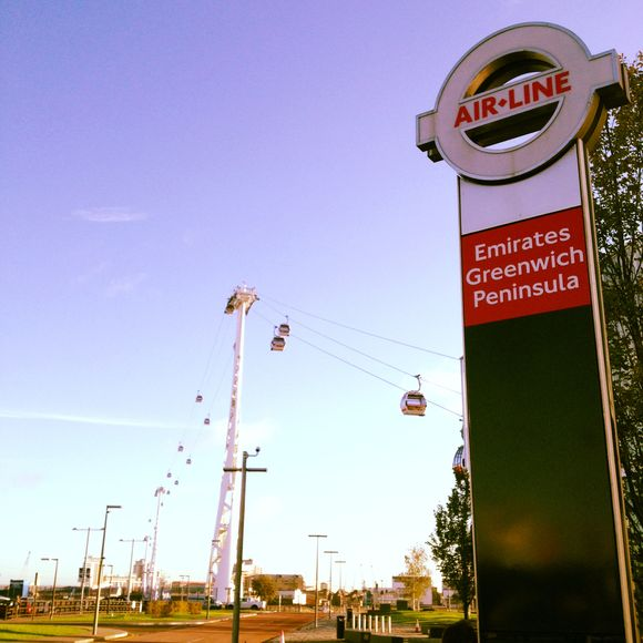 Téléphérique londonien