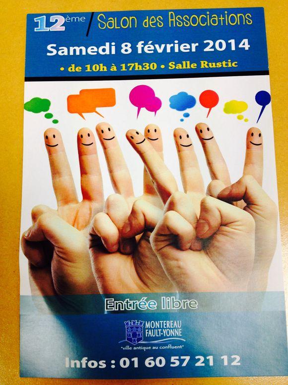 Montereau : salon des associations samedi 8 février 2014