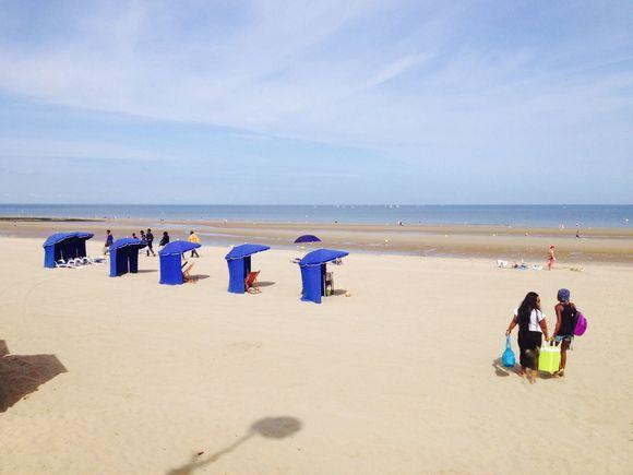 Journée à la mer pour 1€ : Villers sur Mer