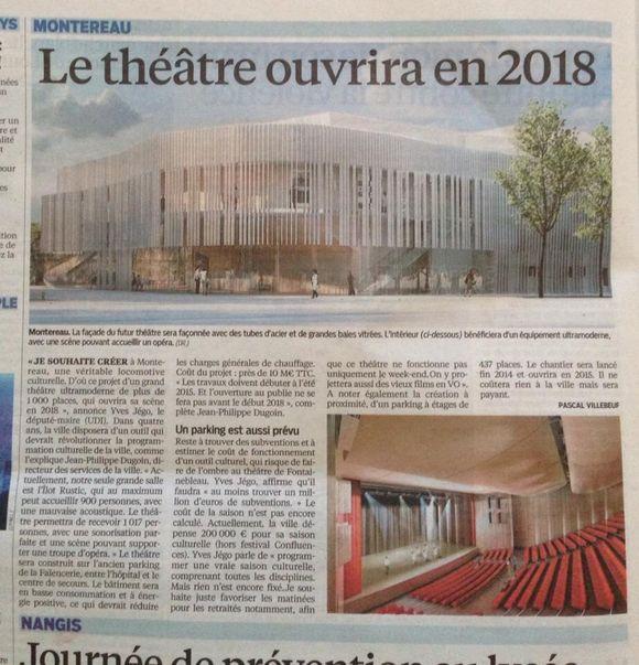 Le nouveau théâtre sur les rails