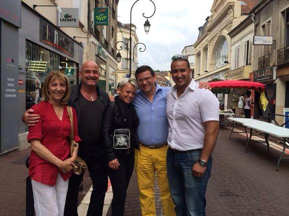 Les puces de Montereau attire le public