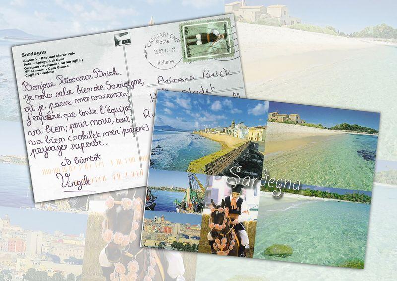 Carte postale gaetan