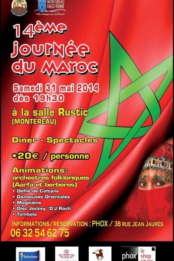 Demain journée du Maroc