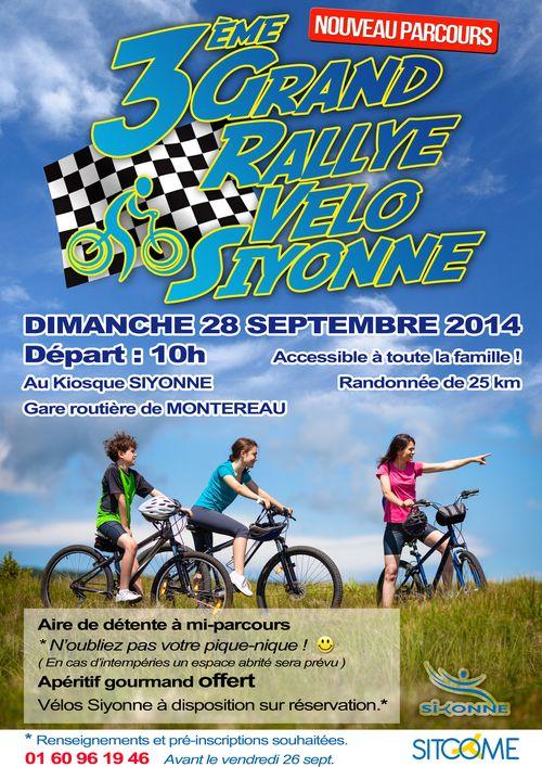 Affiche rallye velo sept 2014