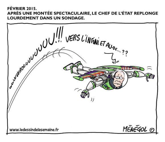 François Hollande revient sur terre