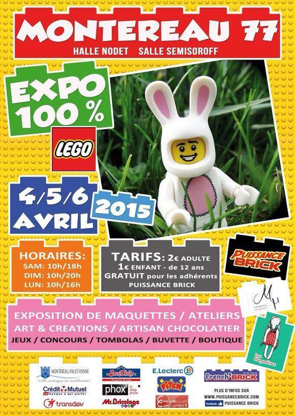 Préparez vous pour un week-end de folie !  100% LEGO