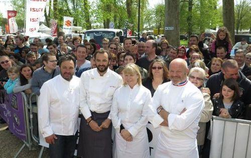 M6 chefs foire