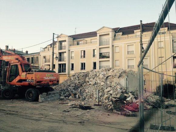 Montereau Cœur de ville : la phase de démolition terminée