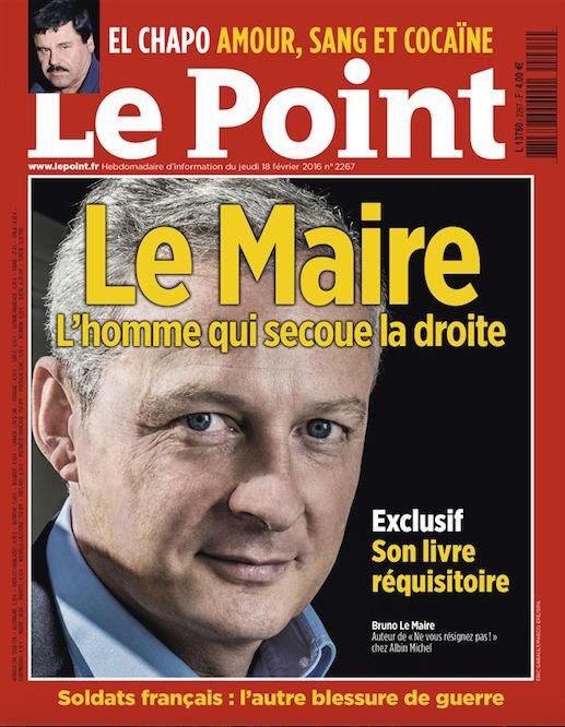 Cette semaine dans Le Point : Bruno Le Maire