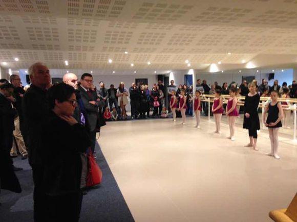 Une nouvelle salle de danse pour notre conservatoire agrée