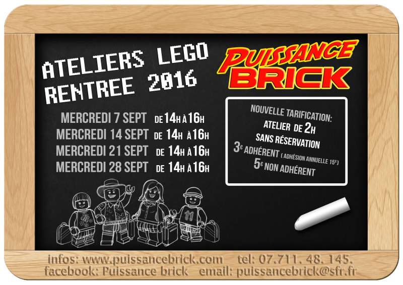 Ateliers puissance brick rentree 2016