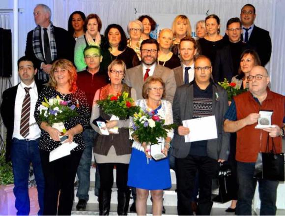 Félicitations aux employés communaux