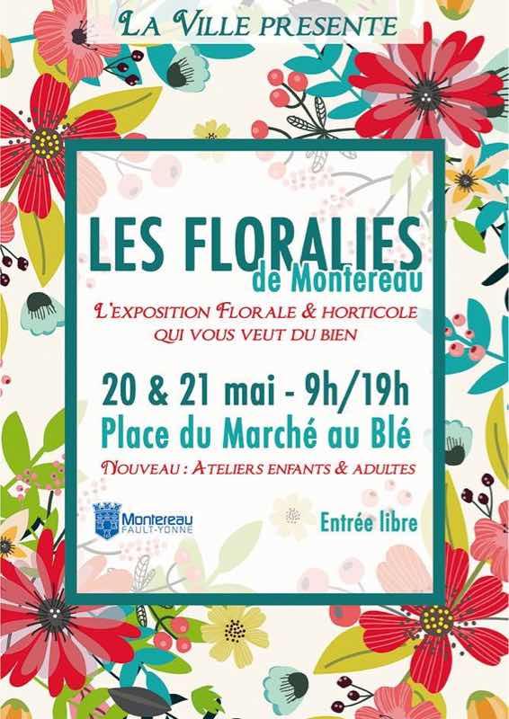 Ce week-end Montereau va baigner dans les fleurs
