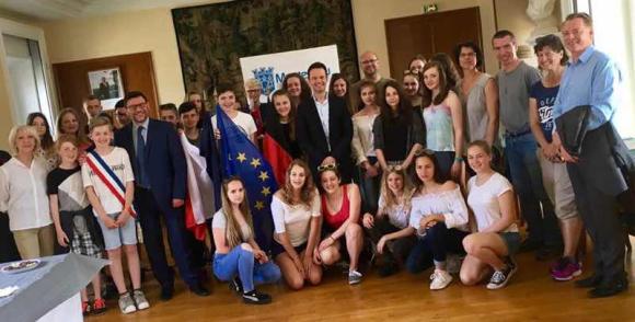 Accueil des jeunes collégiens allemands