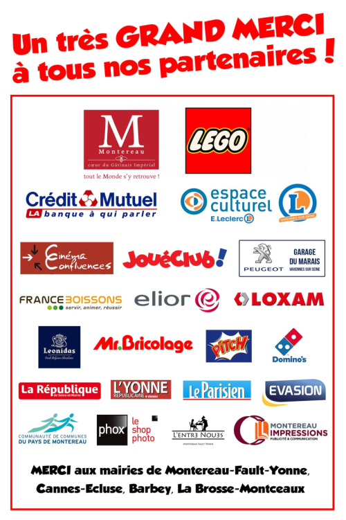 Sponsors montereau 2018