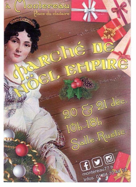 Marché de Noël ce week end